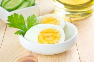Яичная диета: меню для похудения на вареных яйцах